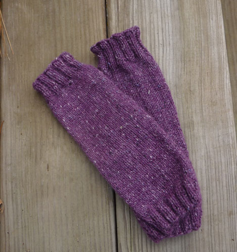 Free Knitting Patterns Leg Warmer Socks : What Did She Do Today?: Tutorial