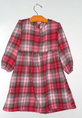Flanneldress